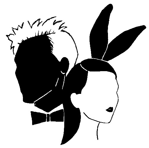 Girl in the Bunny Ears