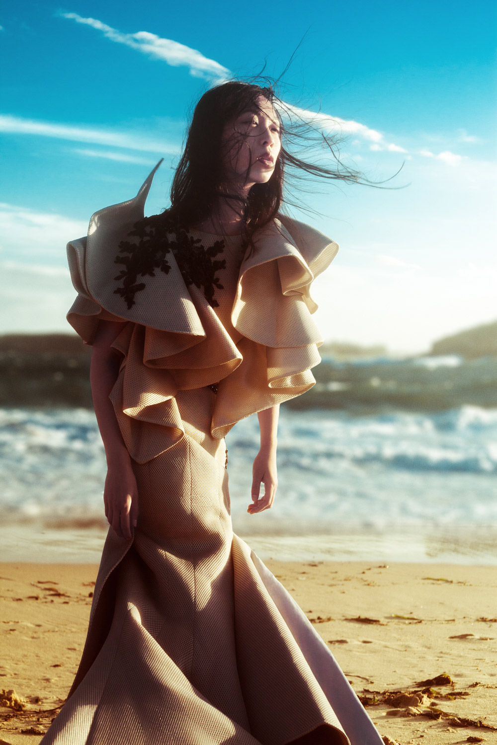betty tran, fashion shoot, phoshoot, vogue, kay sukumar, cissy zhang