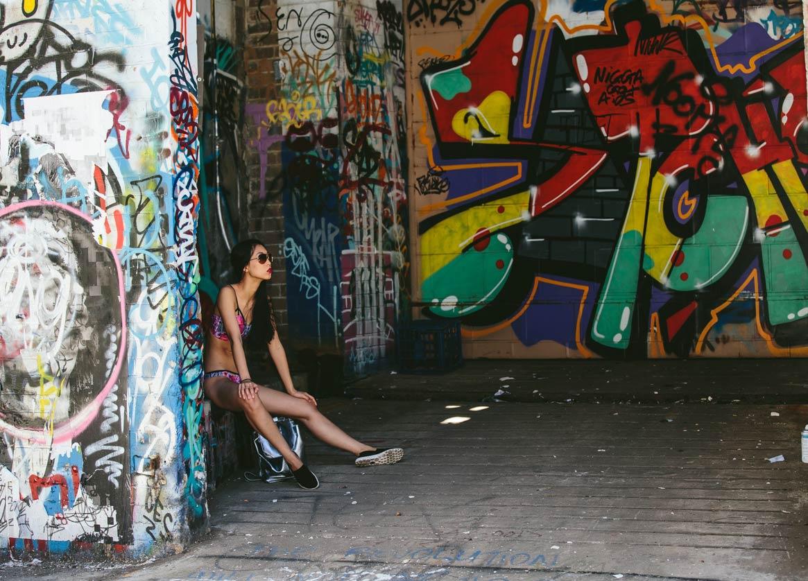 graffiti, photoshoot