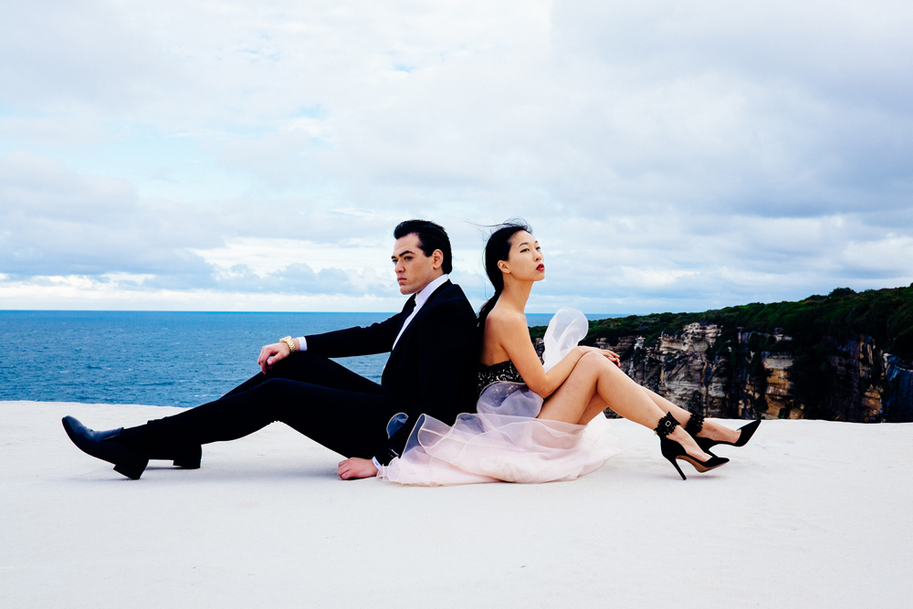 cissy zhang, warren pasi, wedding cake rock, blogger photoshoot