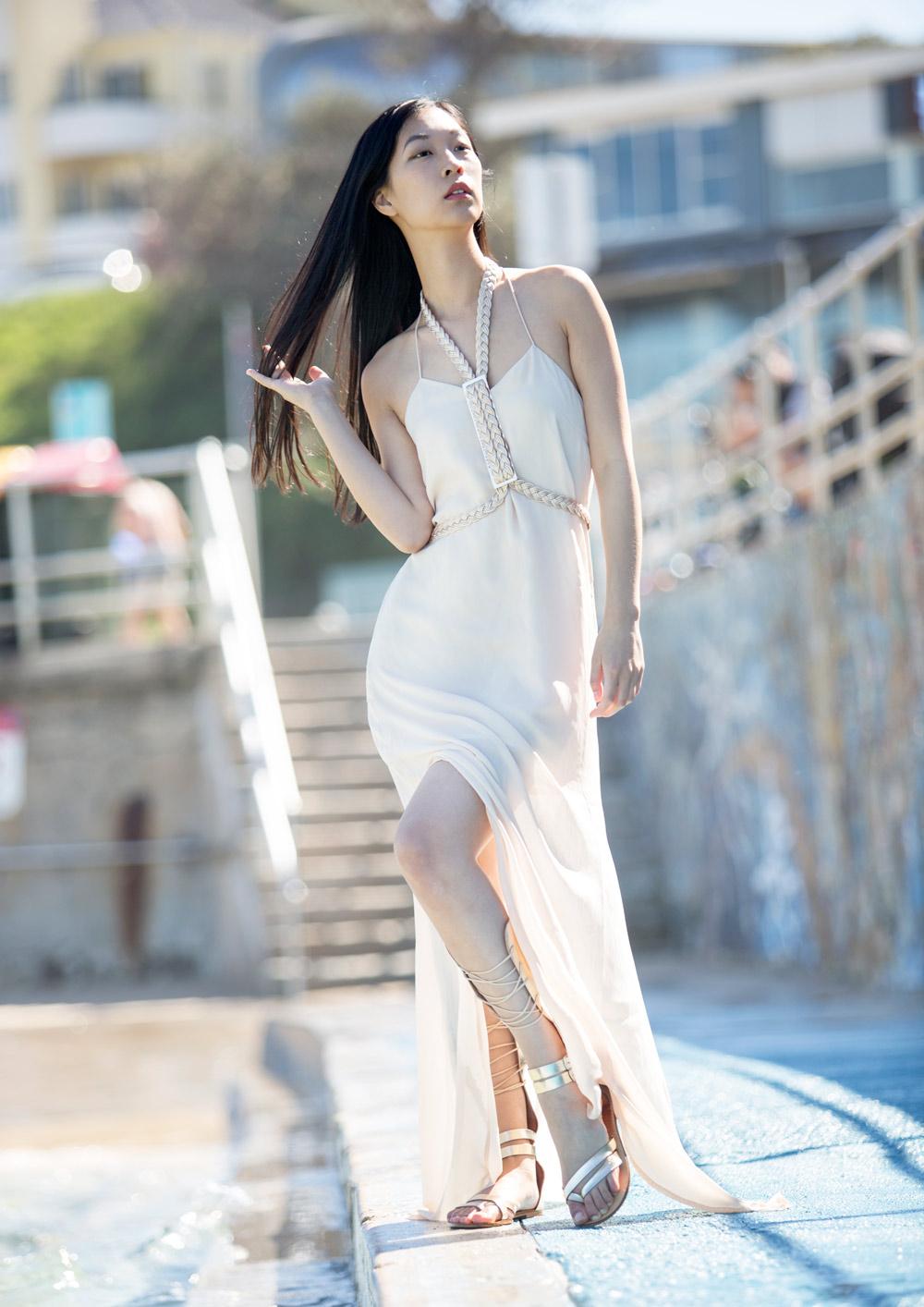 ixiah, warrior photoshoot, cissy zhang, girl in the bunny ears