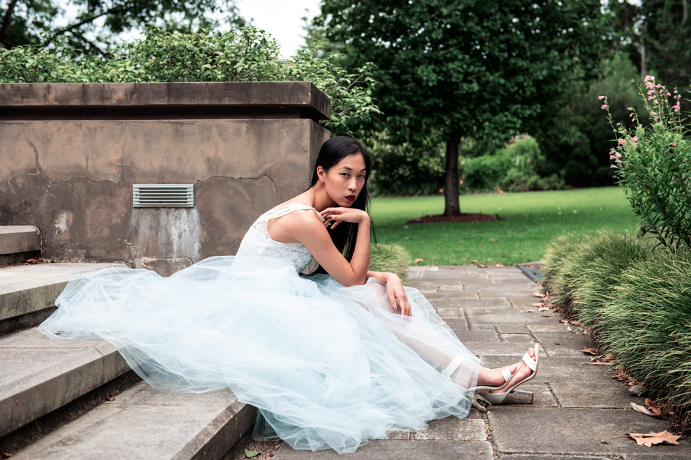 cinderella's dress, fashion bloggers, begitta couture, tulle