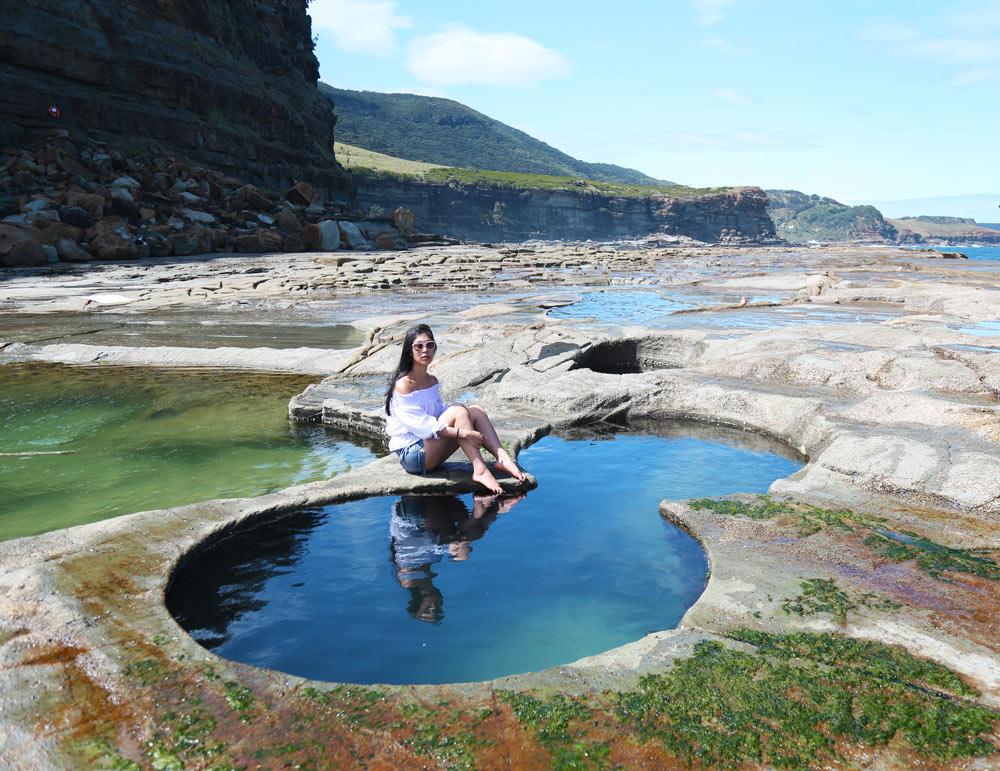 figure 8 pool, travel blog