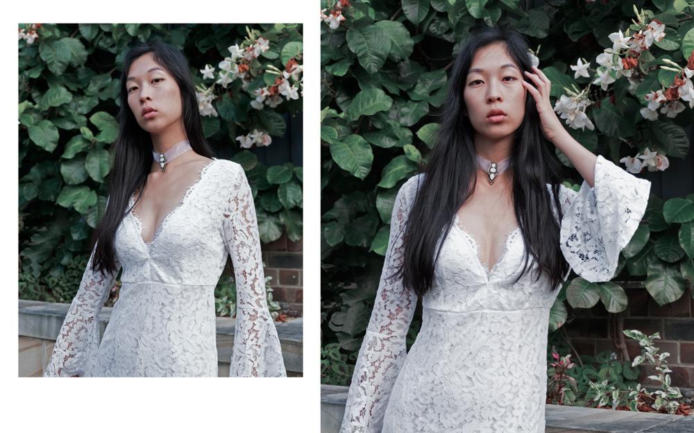 white lace maxi dress, choies