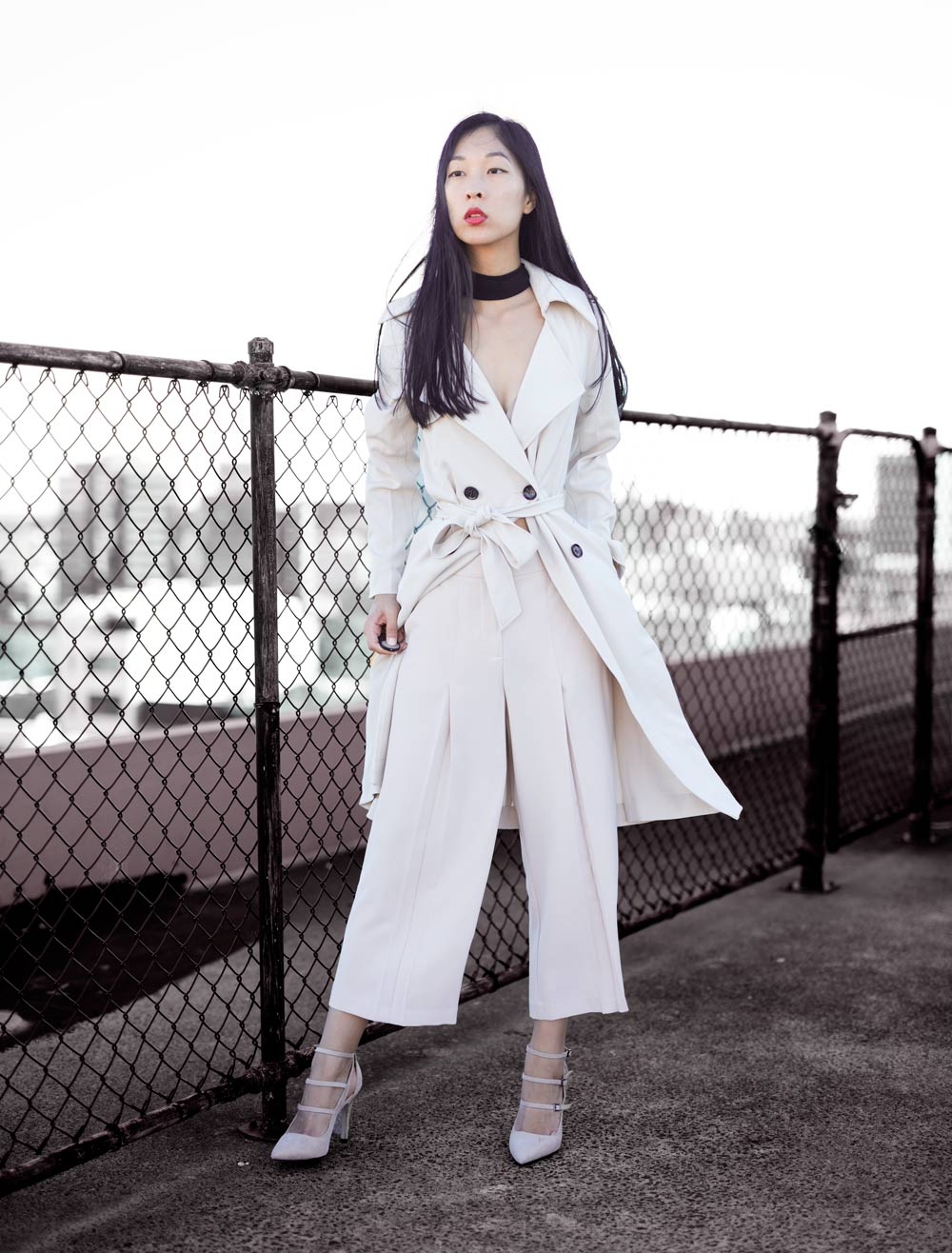 forcast trench coat